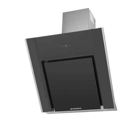 Вытяжка наклонная MAUNFELD Modern 80 нержавеющая стальчерное стекло