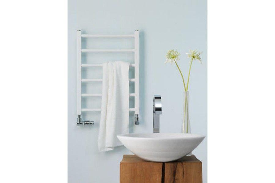Хромированный водный полотенцесушитель в ванну Zehnder Stalox лесенка STX-080-045 45x82,4 см ФОТО