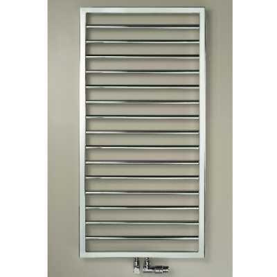 Хромированный водяной полотенцесушитель Zehnder Subway Inox лесенка SUBI-150-045 45x154,9 см ФОТО