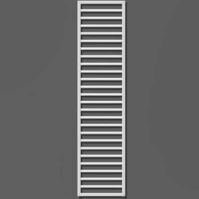 Хромированный полотенцесушитель на отопление Zehnder Subway Inox лесенка SUBI-180-045 45x183,7 см ФОТО