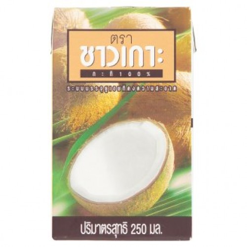 Натуральное кокосовое молоко coconut milk ChaoKon