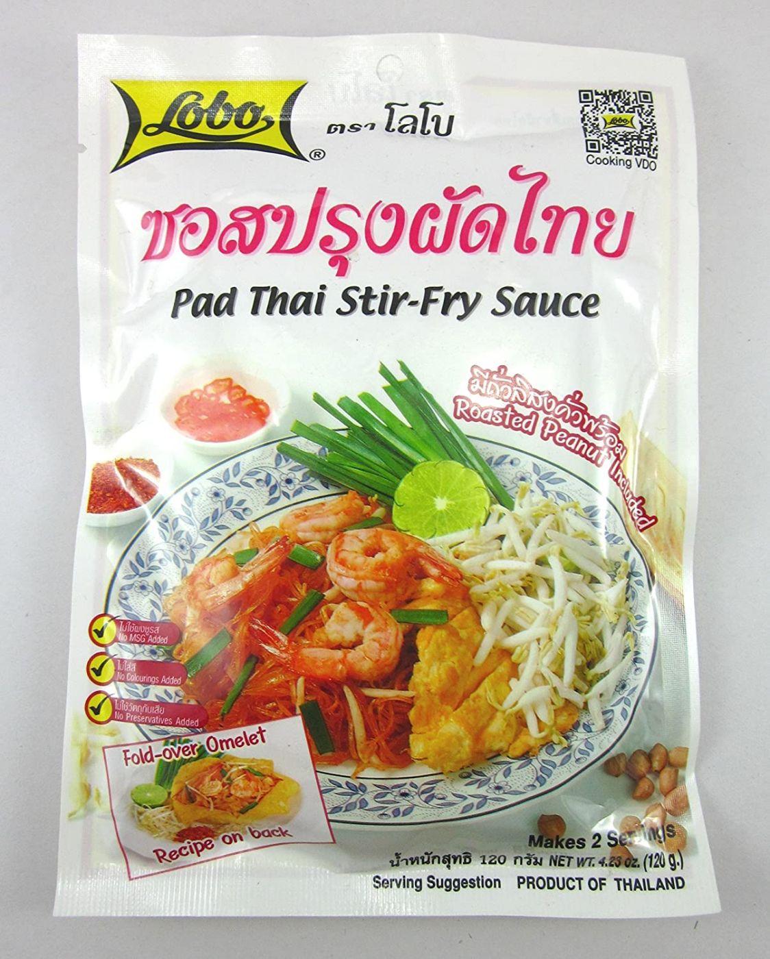 Паста для приготовления тайской лапши Пад Тай (Pad Thai) 120 гр Lobo