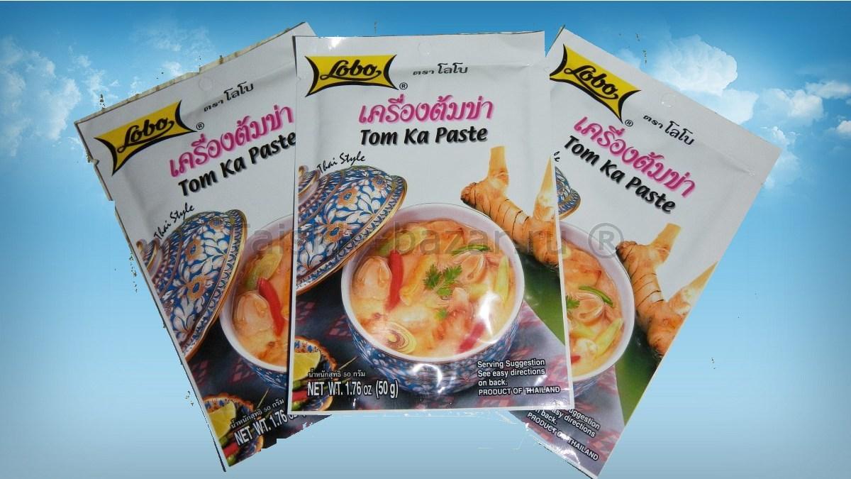 Том Ям и Том Кха Кай, приправа для тайских супов