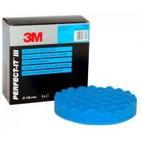 3М 50388 Синий ультротонкий полировальник, 150 мм.