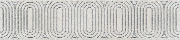OP/A206/12136R | Бордюр Безана серый светлый обрезной