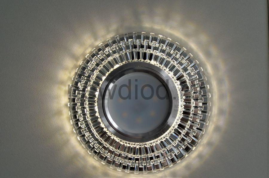 Точечный Светильник OREOL Crystal 2069M 104/60mm Под Лампу MR16 Белый