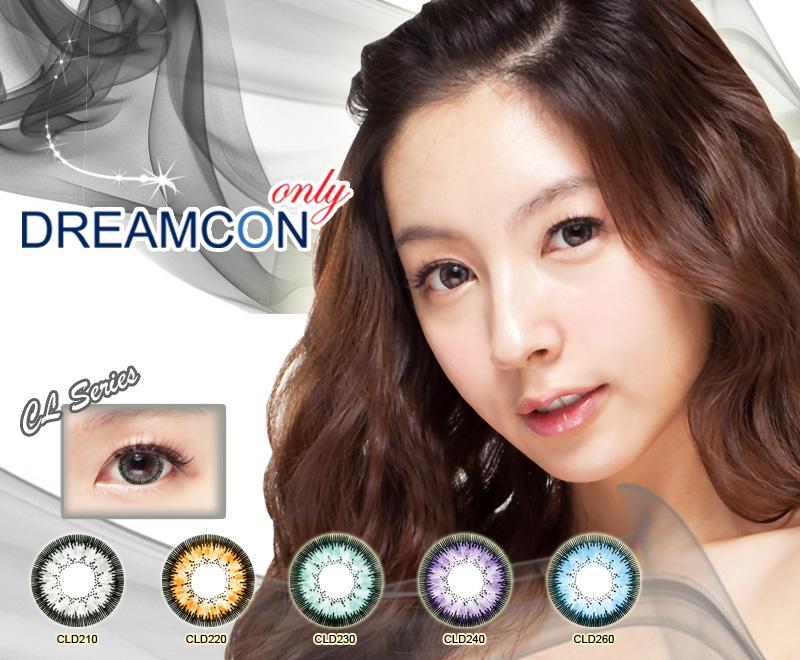 Цветные косметические контактные линзы Dream Con