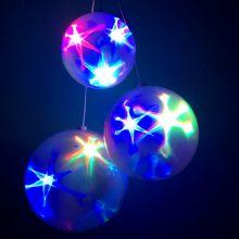 Эксклюзивный шар с LED светодиодами Ceiling Colourful Star Light, 20 см