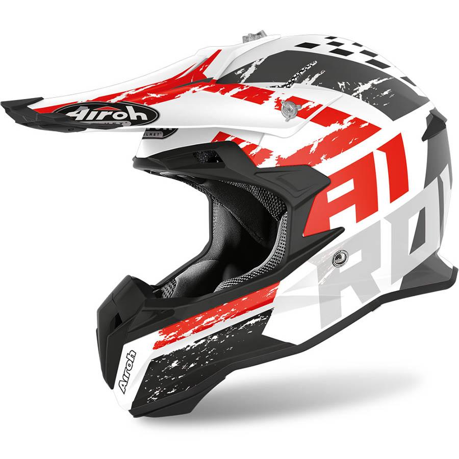 Airoh Terminator Open Vision Hanger Red Matt шлем внедорожный