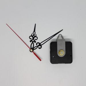 `Часовой механизм, шток 16 мм, со стрелками №01