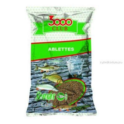 Прикормка Sensas 3000 Club Ablettes (Уклейка) 1кг. (10891)