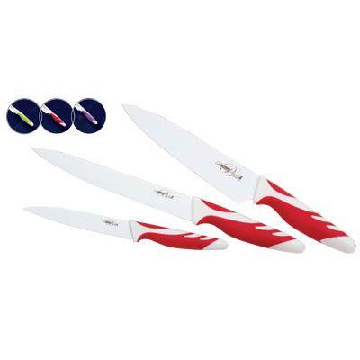 Ножи BS - 9023/3 пр-8см,8см,5см/бел.керамич.покр (х18)