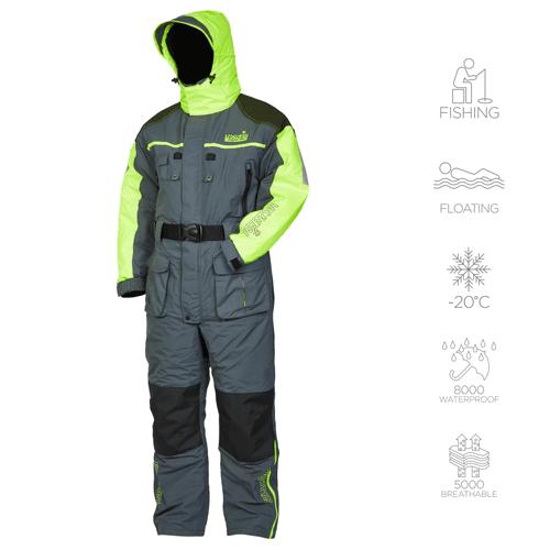 Комбинезон зимний мужской для рыбалки Norfin Signal Pro 434007-XXXXL