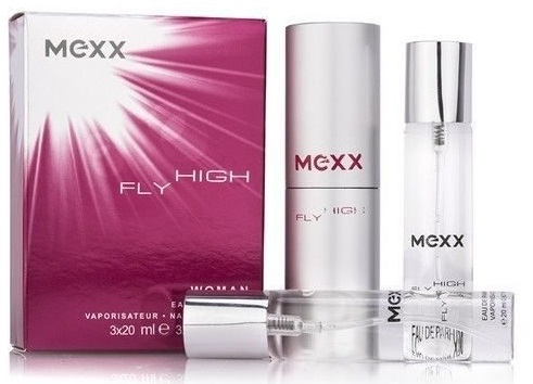 Mexx Fly High Woman 3x20 ml