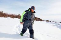 Комбинезон зимний мужской для рыбалки Norfin Signal Pro 434005-XXL фото3