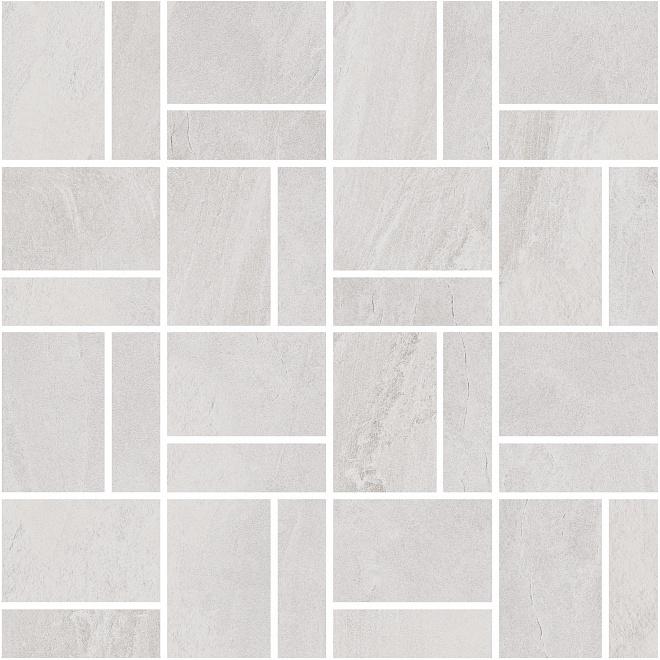T021/DD2037   Декор Про Слейт серый светлый мозаичный