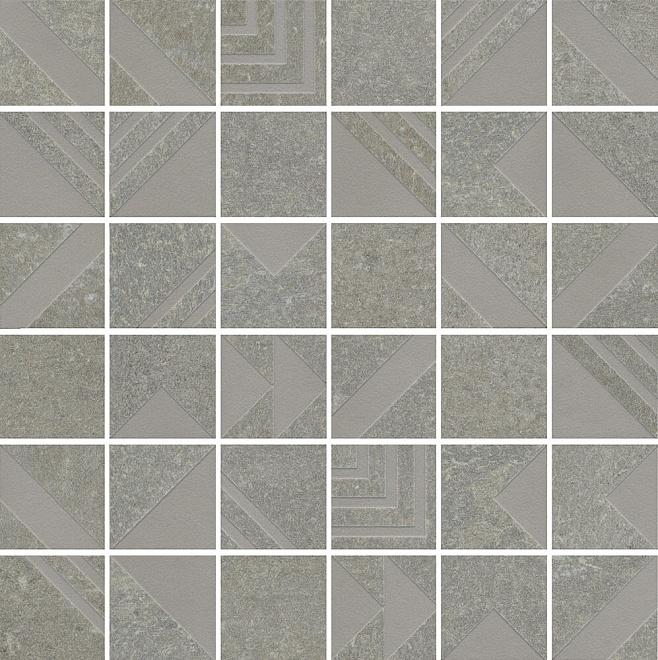SBM013/DD2043 | Декор Про Нордик серый светлый мозаичный