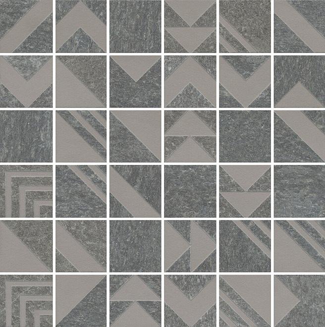 SBM014/DD2040 | Декор Про Нордик серый темный мозаичный