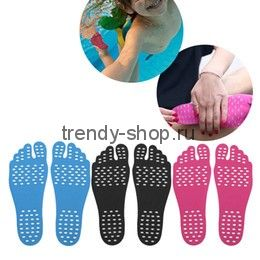 Наклейки на ступни ног Footpad