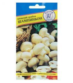 Мицелий грибов Шампиньон белый, 50 мл