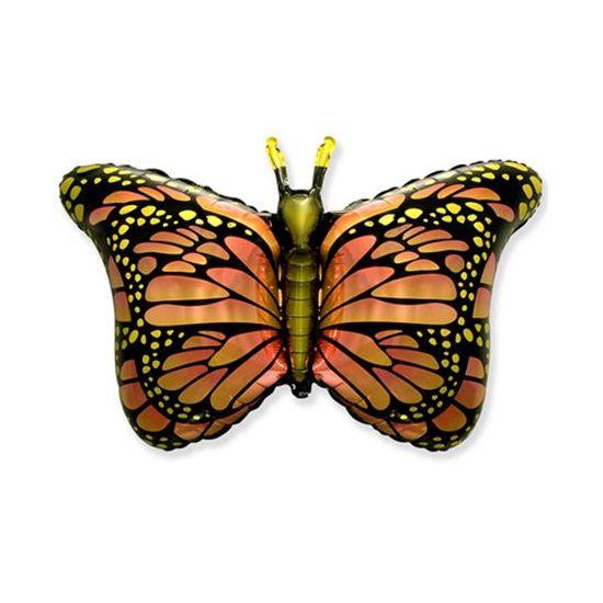 Шар ФИГУРА/11  Бабочка крылья оранжевые/FM 75*105 см
