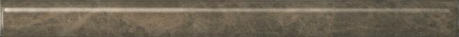 SPA040R | Бордюр Гран-Виа коричневый светлый обрезной