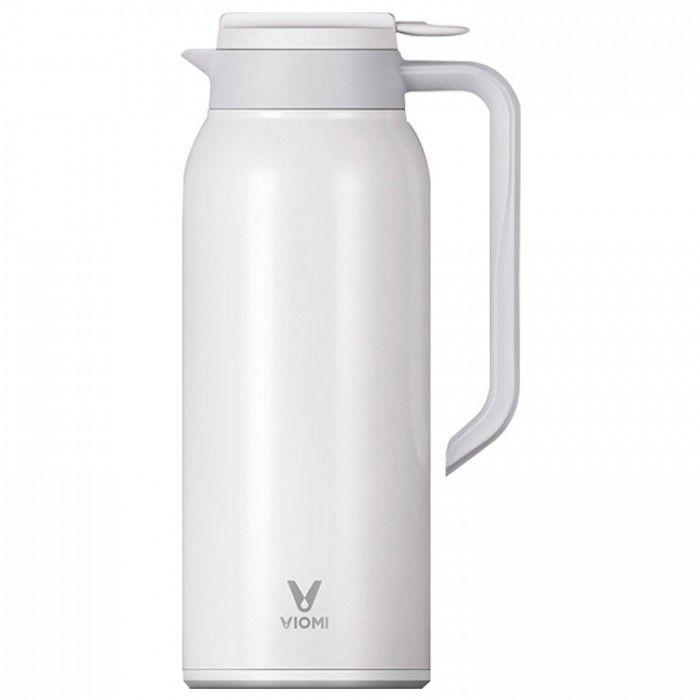 Термокувшин Xiaomi Viomi Steel Vacuum Pot (1.5 л  Белый) (Уценка)