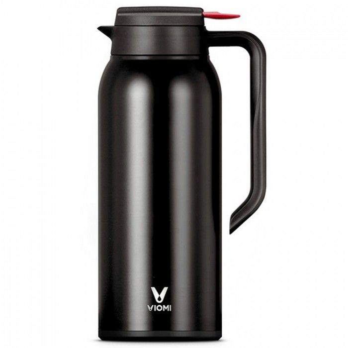 Термокувшин Xiaomi Viomi Steel Vacuum Pot (1.5 л  Черный) (Уценка)