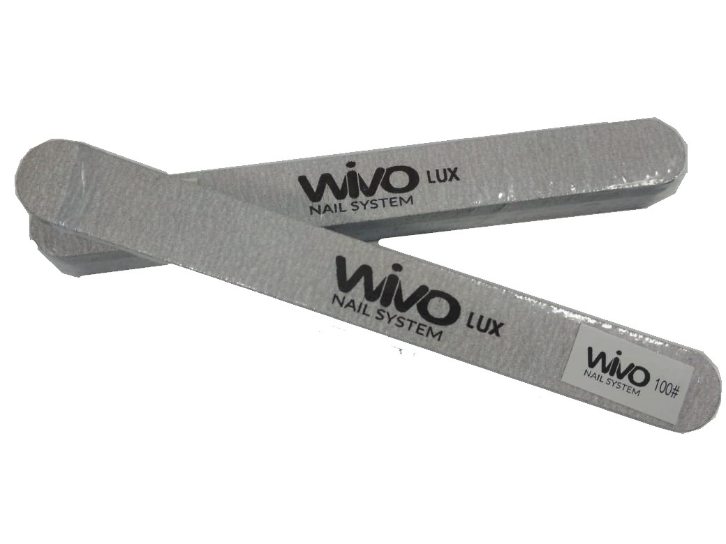 Сменные файлы-пилки WIVO на липкой основе 100 грит  (Зебра, Япония , 180х20мм., 25 шт.)
