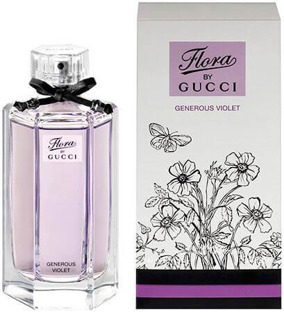 Gucci Туалетная вода Flora By Gucci Generous Violet, 100 ml