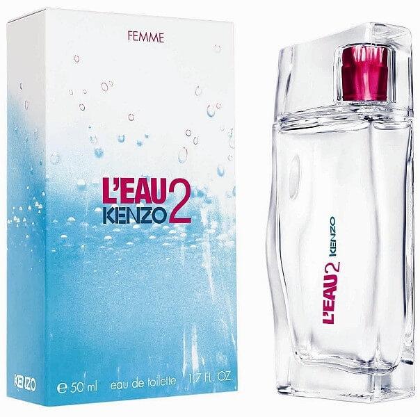 Kenzo Туалетная вода L'Eau 2 Kenzo Femme, 100 ml