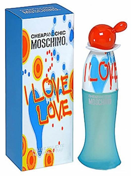 Moschino Туалетная вода Cheap And Chic I Love Love, 100 ml