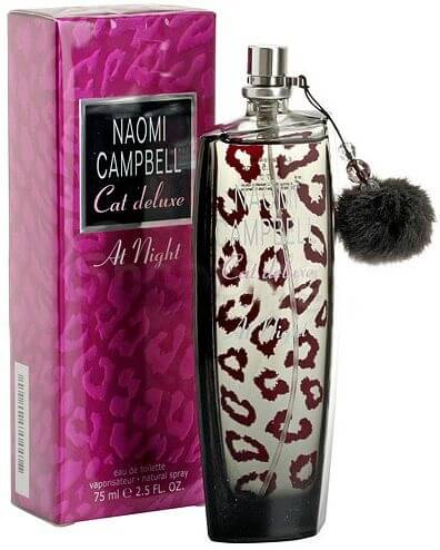 Naomi Campbell Туалетная вода Cat Deluxe at Night, 75 ml