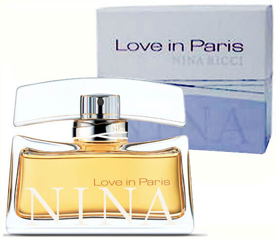 Nina Ricci Парфюмерная вода Love In Paris, 80 ml