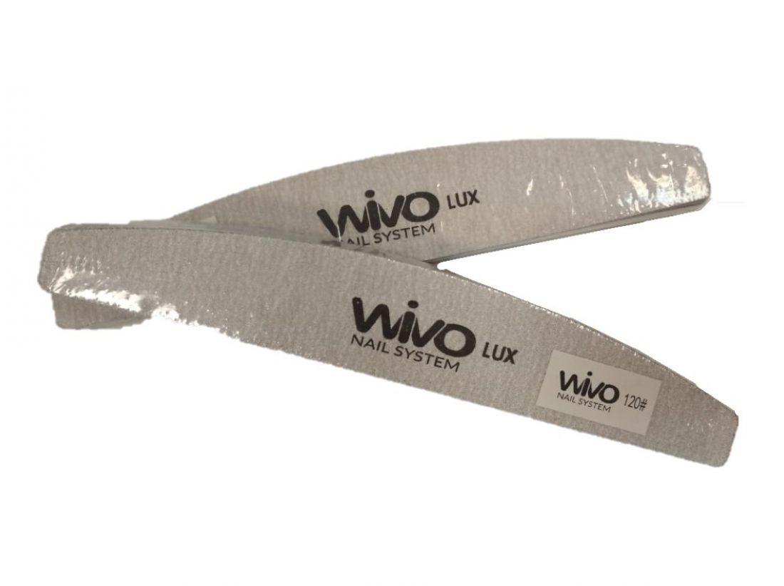 Сменные файлы-пилки WIVO на липкой основе ЛУНА 120 грит  (Зебра, Япония , 180х28мм., 25 шт.)