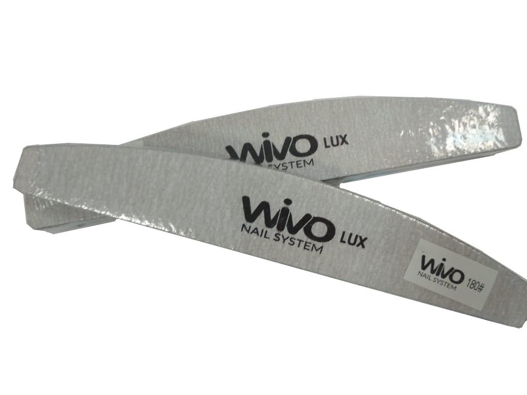 Сменные файлы-пилки WIVO на липкой основе ЛУНА 180 грит  (Зебра, Япония , 180х28мм., 25 шт.)
