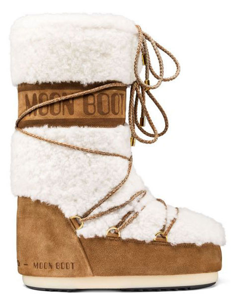 Moon Boot Wool Sand-Off White / 35-38.