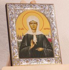 Икона Матрона Московская (14х18см)