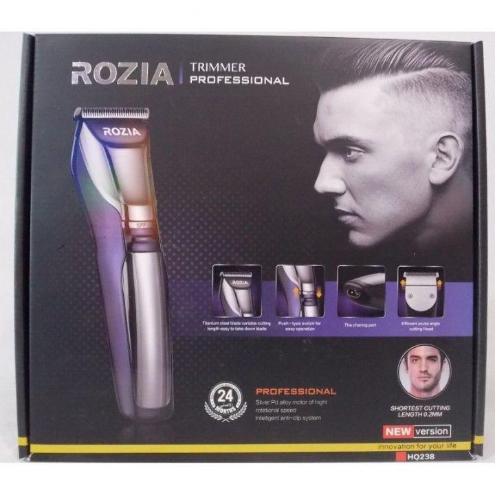 Машинка-триммер для стрижки волос Rozia HQ-238
