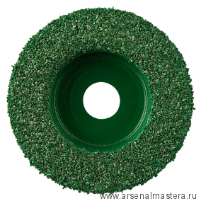 Диск шлифовальный для камня Merlin 2 плоский зелёный D 50 мм посадка 10 мм Coarse 10012 М00012000