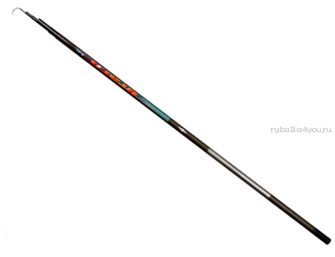 Удилище без колец Mifine Draco Carbon 900 см / арт 1065-900