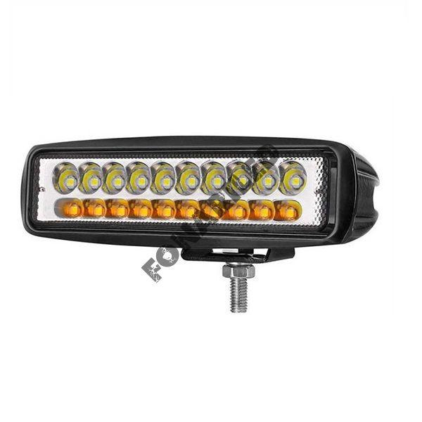 Светодиодная фара WY20L-60W  SPOT желтый/белый свет