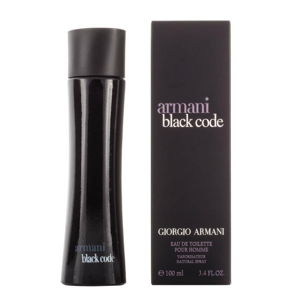 GIORGIO ARMANI Armani black code (т) м 75 ml