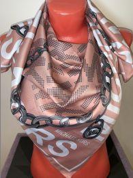 Шелковый платок Michael Kors нюдовый, орт.037