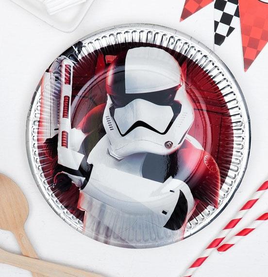 Набор тарелок 8 шт Звездные войны
