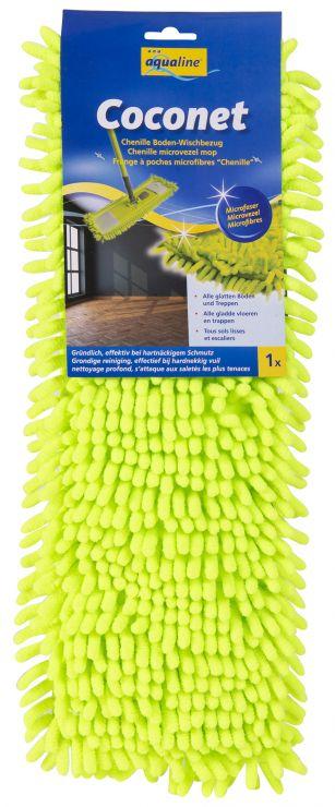 Aqualine Универсальная насадка Коконет из микроволокна для плоской швабры 42 см