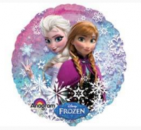 "Шар Круг фольга 18"" Frozen"