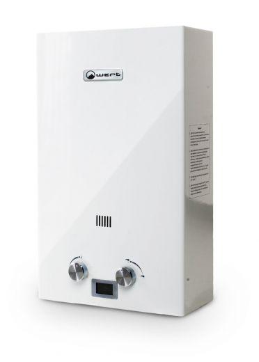 Автоматический газовый водонагреватель Wert 10E White