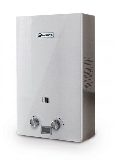 Автоматический газовый водонагреватель Wert 10E Silver