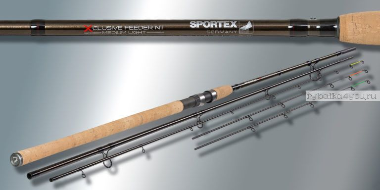 Удилище фидерное Sportex Xclusive Feeder NT Medium Heavy MH3618 3.60 м 100-190 гр